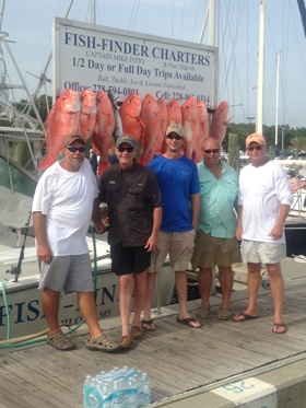 Red Snapper Fishing In Biloxi, MS