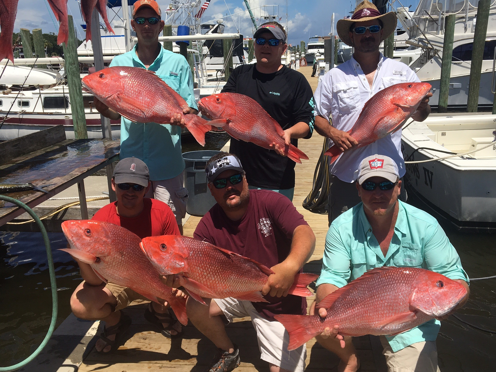 June 18th 2017 biloxi charter fishing for Mississippi fishing charters