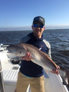 Deep sea fishing redfish