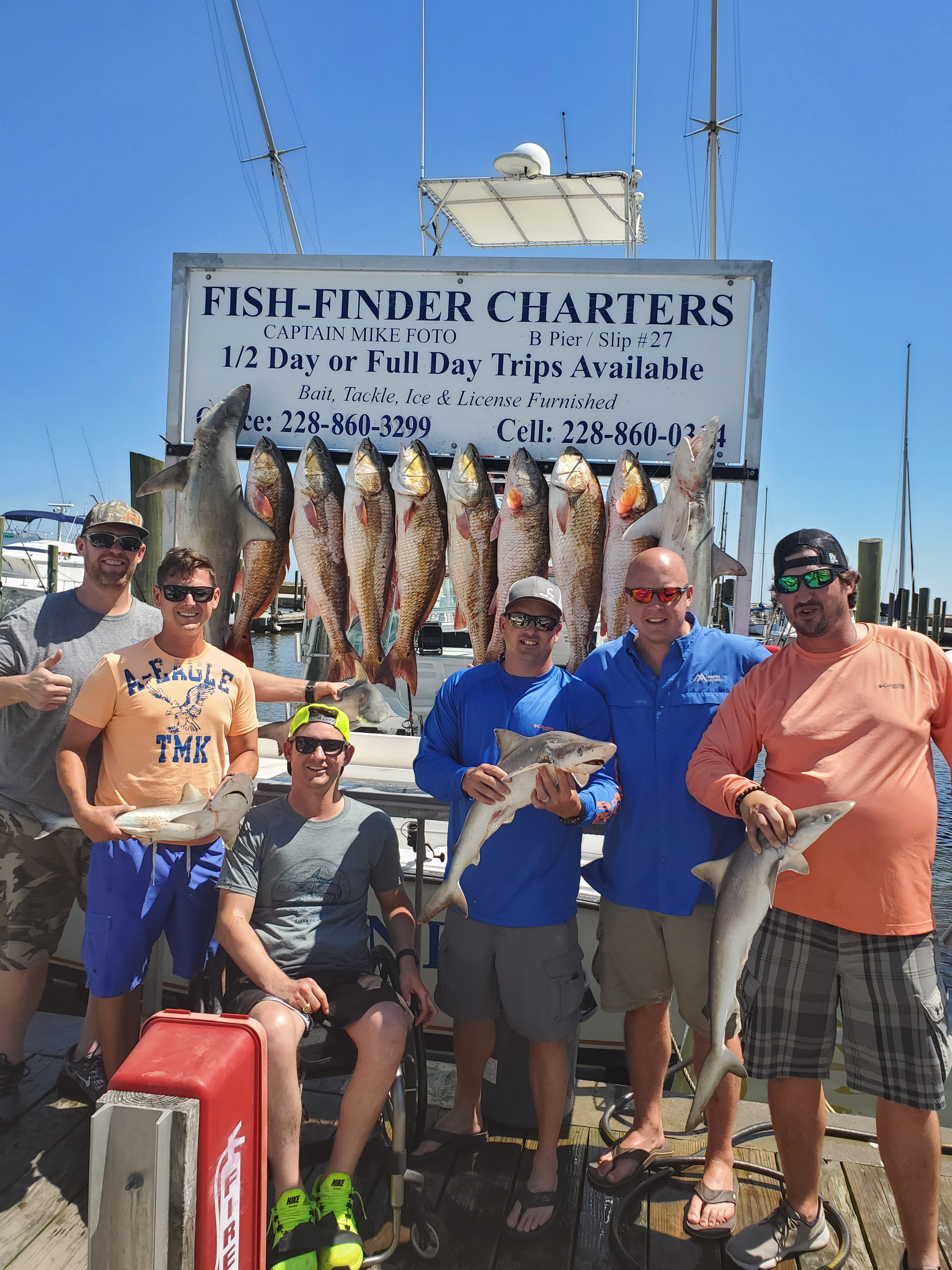 Red Drum charters