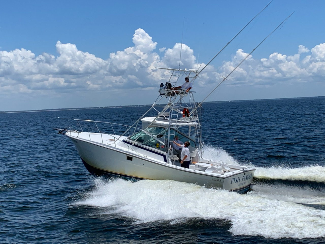 charter boat fish-finder